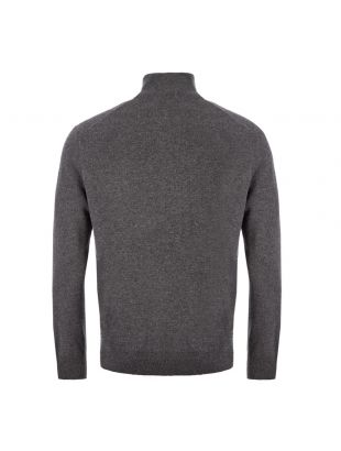 Half Zip Sweater – Grey