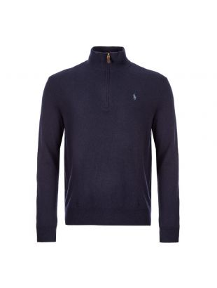 Ralph Lauren Half Zip Sweater | 710723053 004 Navy