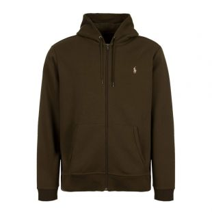 Ralph Lauren Zip Up Hoodie 710652313 007 Green