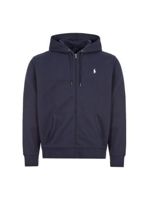 Ralph Lauren Zip Up Hoodie | 710652313 008 Navy