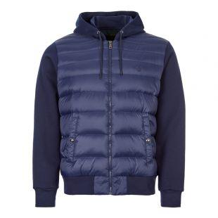 Hooded Jacket - Navy