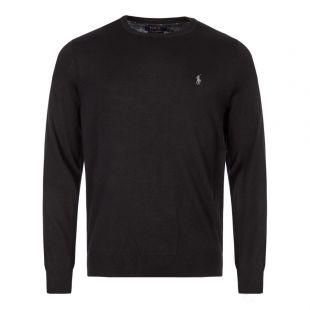Ralph Lauren Sweater Crew Neck   710714346 001 Black