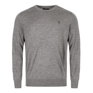 Ralph Lauren Sweater Crew Neck | 710714346 005 Grey