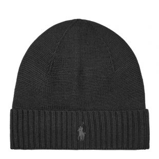 Ralph Lauren Hat Knitted | 710761415 003 Black
