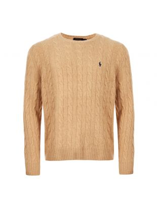 Cable Sweater – Camel