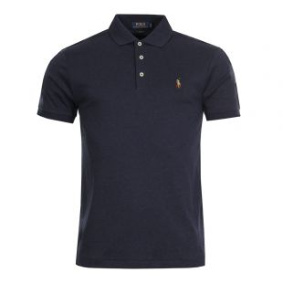Ralph Lauren Slim Fit Polo Navy 710652578 075 Spring
