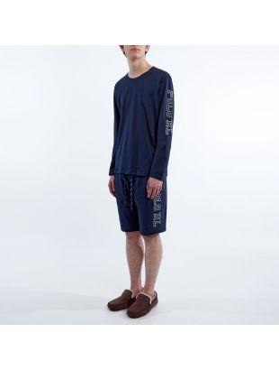 Sleepwear Long Sleeve T-Shirt - Navy