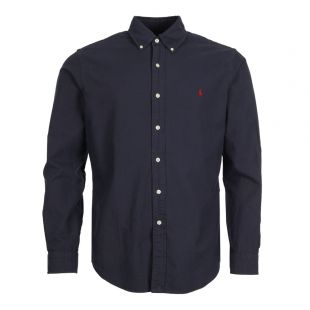 Polo Ralph Lauren Oxford Shirt 710723610 003 In Navy