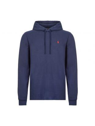 Ralph Lauren Long Sleeve Hooded Top | Navy Blue 710790573 009| Aphrodite
