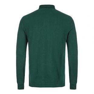 Long Sleeve Polo - Green