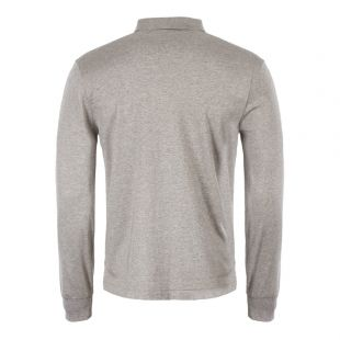 Long Sleeve Polo - Grey