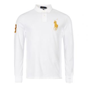 ralph lauren long sleeve polo shirt 710766857 003 white
