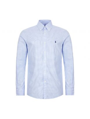Ralph Lauren Gingham Shirt | 712722192 004 White / Blue | Aphrodite 1994