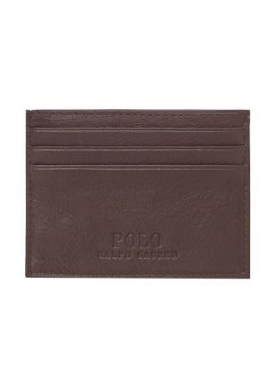 Card Holder Debossed – Brown