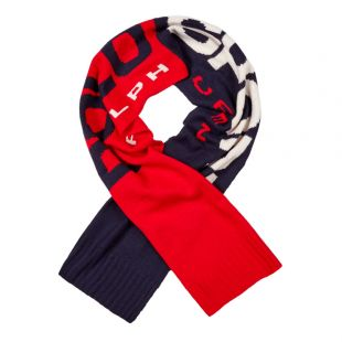 Ralph Lauren Scarf | 449775948 002 Red / Navy