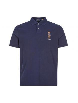Ralph Lauren Polo Bear Polo Shirt | 710815187 001 Navy