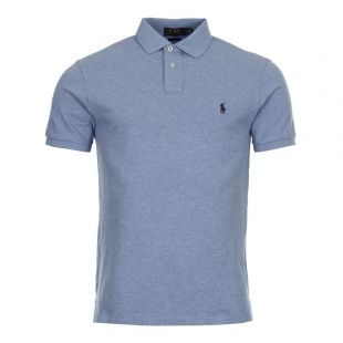 Ralph Lauren Slim Fit Polo in Jamaica Blue 710548797 013
