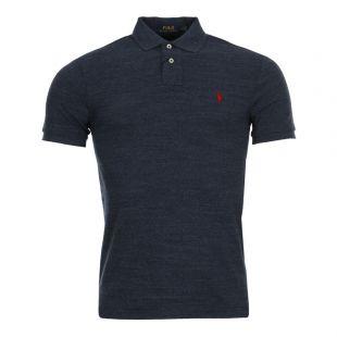 Ralph Lauren Polo Shirt in Classic Royal Heather 710548797 012