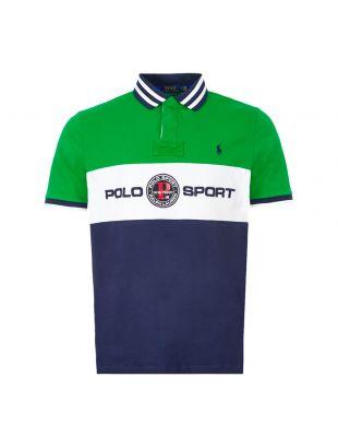 Ralph Lauren Polo Shirt | Green / Navy 710790855 001 | Aphrodite