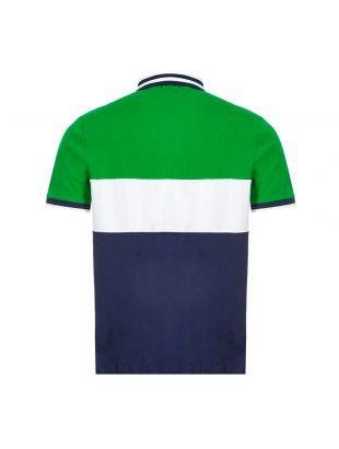 Polo Shirt - Green / Navy
