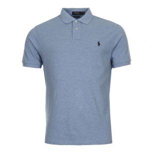 Ralph Lauren Custom Fit Polo 710666998-007 Blue