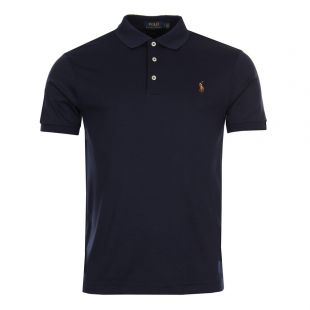 Ralph Lauren Slim Fit Polo Navy 710685514-003
