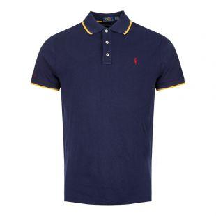 Ralph Lauren Polo Shirt 710760240 001 Navy