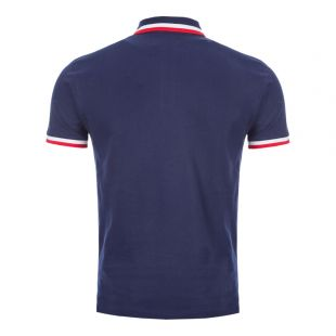 Polo Shirt Twin Tipped – Navy / Red / White