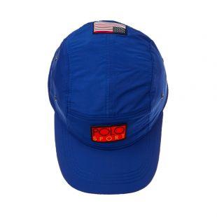Cap 5 Panel Gear - Royal Blue