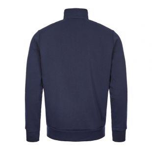 Sweatshirt Half Zip - Navy