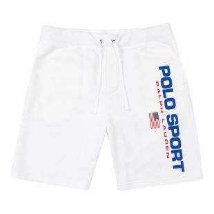 Ralph Lauren Shorts Polo Sport 710750457 001 White