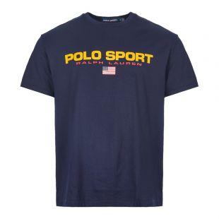 Ralph Lauren T-Shirt Polo Sport 710750444 004 Navy