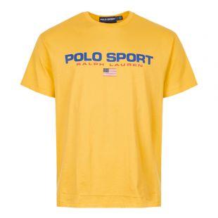 Ralph Lauren T-Shirt Polo Sport 710750444 006 Yellow