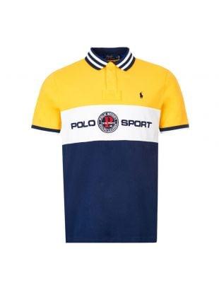 Ralph Lauren Polo Shirt | 710790855 002 Yellow