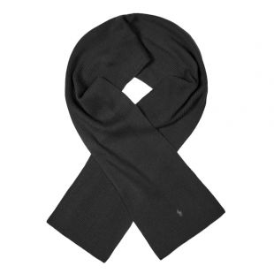 Ralph Lauren Scarf Ribbed | 710761417 001 Black