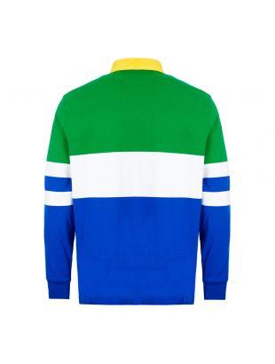 Rugby Shirt - Green / Blue