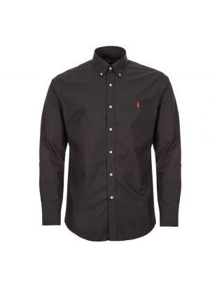 Shirt Button Down – Black