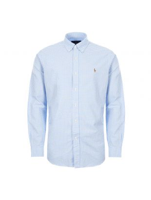 Ralph Lauren Shirt Button Down | 710784298 019 Blue / White