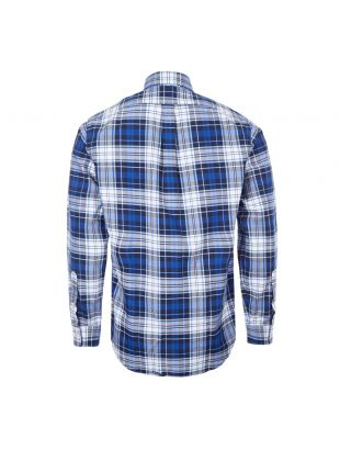 Checked Shirt – Blue / White / Navy