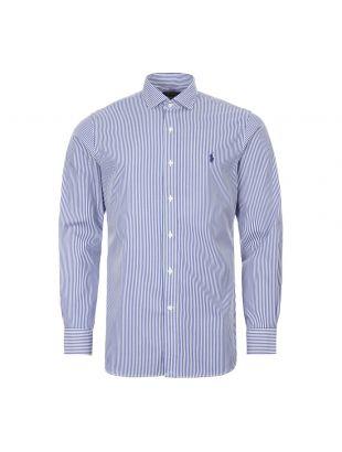 Shirt - Navy / White