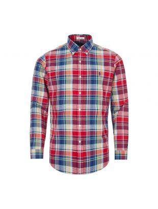 Ralph Lauren Shirt Custom Fit | 710795253 001 Red / Blue Check
