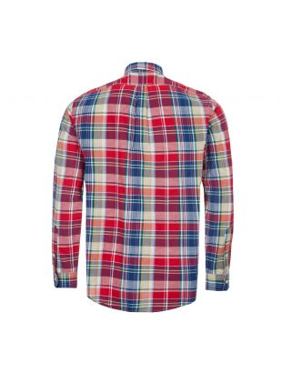 Shirt Custom Fit - Red / Blue Check