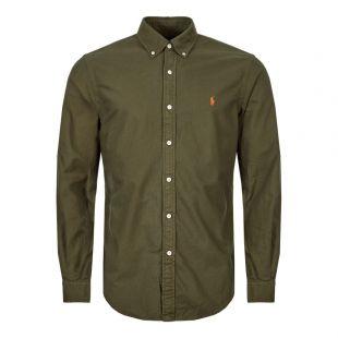 Ralph Lauren Shirt 710767447 001 Green