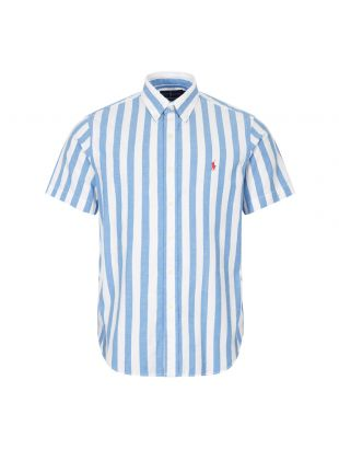 Ralph Lauren Short Sleeve Stripe Shirt | 710805619 001 Blue / White