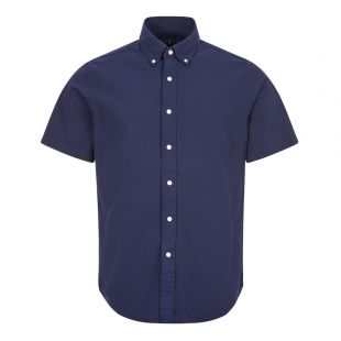 ralph lauren short sleeve shirt 710795250 002 navy