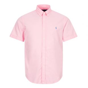 ralph lauren short sleeve shirt 710795382 009 pink