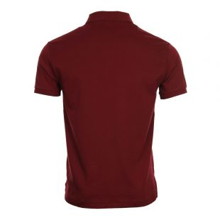 Slim Fit Polo - Classic Wine