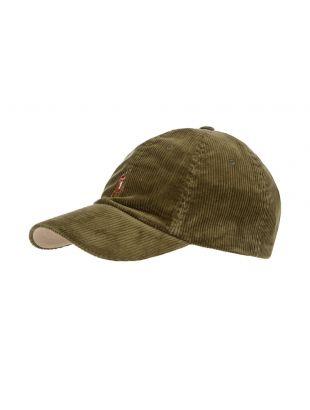 Ralph Lauren Sports Cap | 710811342 002 Green Corduroy