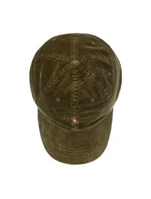 Sports Cap - Green Corduroy