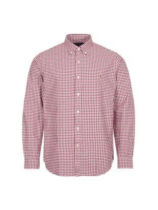 Ralph Lauren Shirt Gingham | 710815590 001 Red / White | Aphrodite